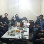 انتخاب هیئت رئیسه و بررسی انتخابات پیشرو+عکس