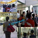 کودکان کار شیرازی به دیدن موزه تاریخ طبیعی و تکنولوژی دانشگاه شیراز رفتند
